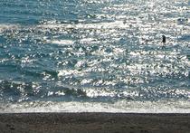 Черное море, лютый мороз