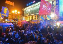 На Майдане появился первый погибший