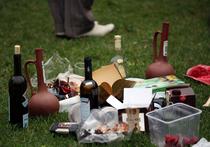 Обочина на пикнике