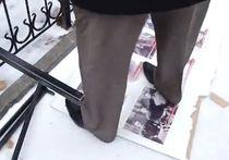 Крымские татары разгромили выставку Сталина. ВИДЕО