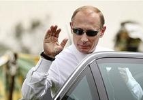 Путин едет - МКАД стоит