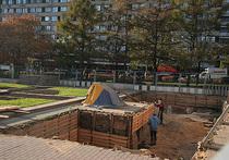 Работы в центре Москвы сдвинулись с точки