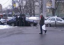 Лихач перегородил дорогу президенту