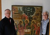 Правда о возвращении в Россию «Троицы Ветхозаветной»