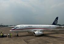 «В Индонезию улетел совсем другой суперджет»