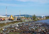 Амур уходит: уровень воды у Хабаровска резко снизился