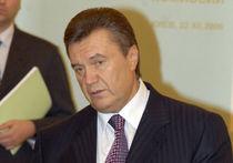 Янукович играет свадьбу в Малиновке
