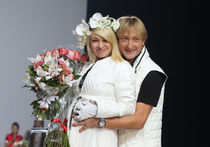 У Евгения Плющенко родился сын