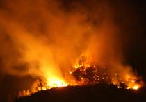 При тушении пожара погибли девять парашютистов