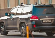Синие ведерки почернели от злости на вип-авто