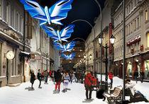 Над Никольской улицей будут парить оригами