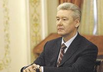 Собянин подал документы в Мосгоризбирком