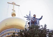 Акция «МК»: кремлевскую елку нарядили дети