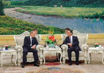 Путин передал Ху Цзиньтао привет от Медведева