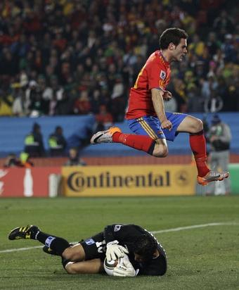 Испания одержала первую победу на чемпионате мира