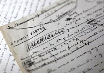 С молотка ушли документы писателя