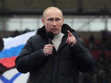 Нобелевскую премию — Путину!