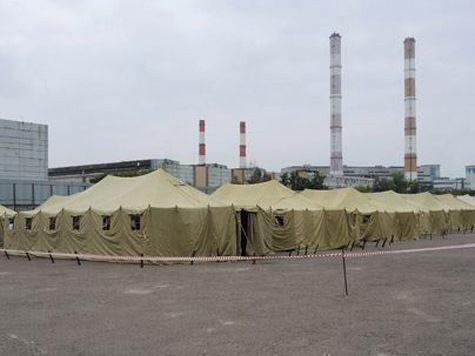 В московском лагере для нелегалов есть приговорённые к смерти сирийцы