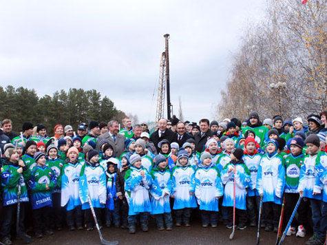 В Нефтекамске юные хоккеисты будут тренироваться на собственной арене