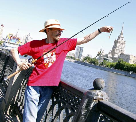 Рыбу, пойманную в Москве, можно есть