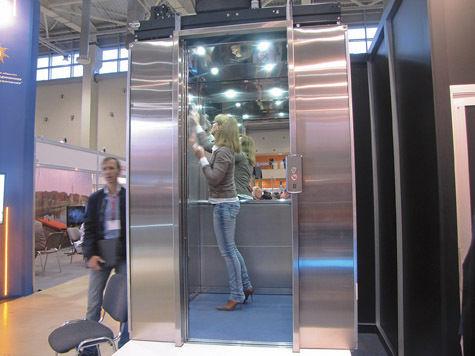 В лифтах появятся веселые картинки