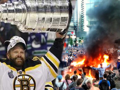 Финал НХЛ привел к бунту