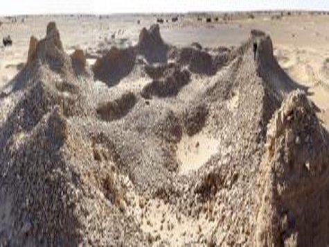 Спутники помогли обнаружить затерянные в ливийской пустыне древние города ««очень великого  народа»
