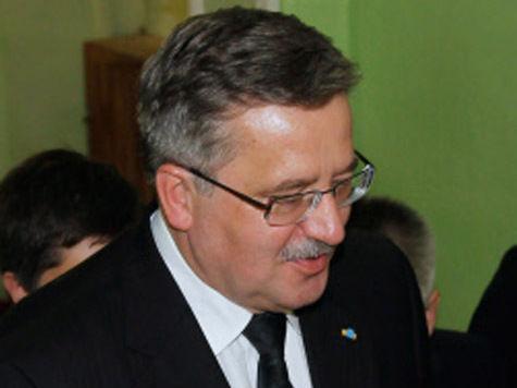 В Украине покусились на президента Польши