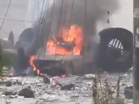 Сирийские боевики, связанные с «Аль-Каидой», пытаются захватить христианскую деревню