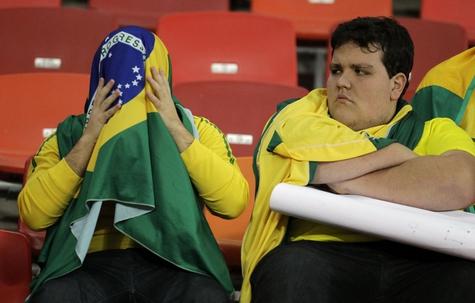 Сборная Бразилии проиграла голландцам