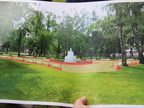 В Лыткарине появится мраморный фонтан
