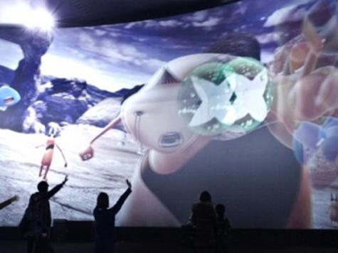 Южная Корея обзавелась мультимедийным парком виртуальной реальности (4D)