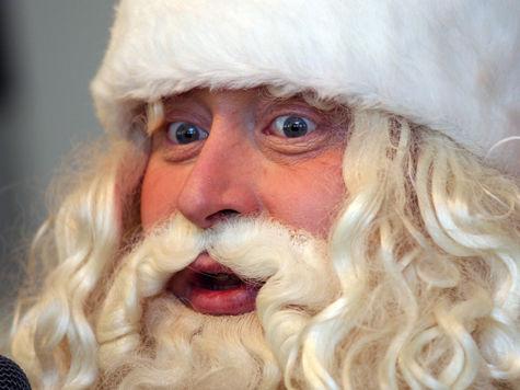 Поздравление Деда Мороза космонавтам не отменяется