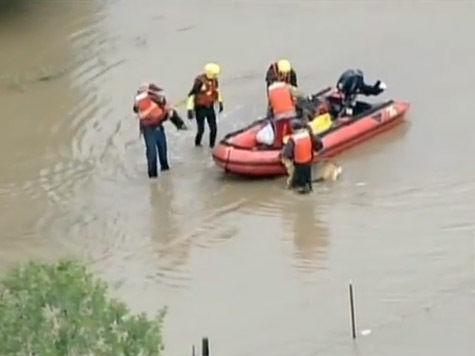 Из-за наводнения в США пропали без вести около 600 человек