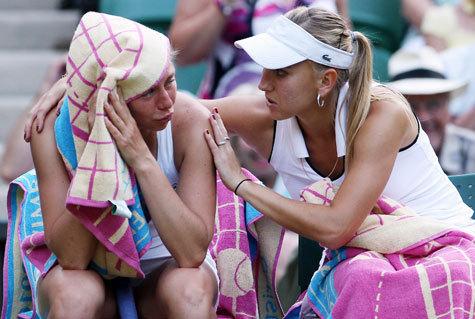 В субботу у россиянки Веры Звонаревой был шанс войти в историю тенниса