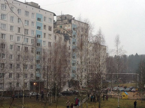 Найдено тело шестой жертвы взрыва газа в Подмосковье