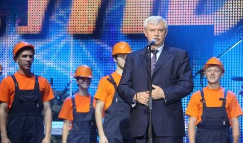 Губернатор Санкт-Петербурга отмечает год со дня своего правления
