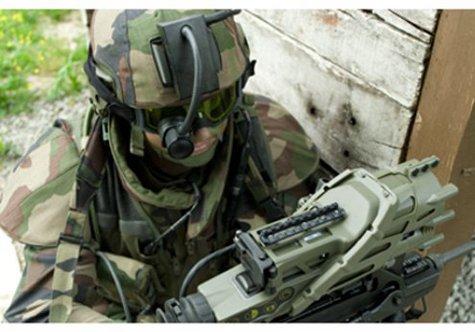 Спецназ ГРУ оденут французы