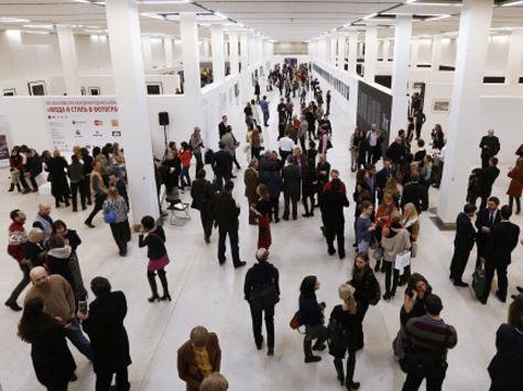 Очередной фотопарад биеннале «Мода истиль вфотографии» парализовал гостей