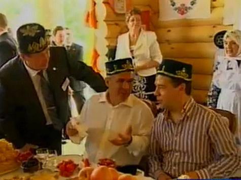 В Казани президента ждали спорт, рок и кувалда