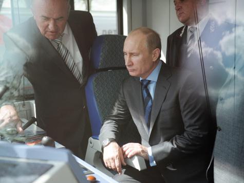 Путин навестил «Ласточку»
