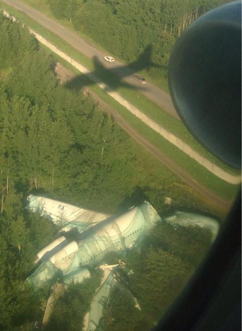 Обломки разбившегося в «Домодедово» самолета не могут убрать три года
