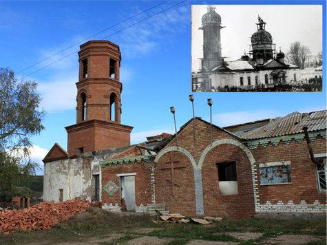 В Мелеузовском районе Башкортостана восстанавливают храм екатерининской эпохи