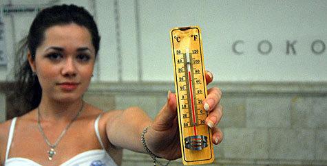 В Москве установилась среднеазиатская погода
