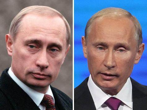Владимир Владимирович не злоупотребляет ботоксом