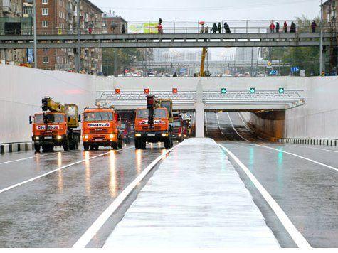 Собянин открыл ключевые развязки на Дмитровском шоссе