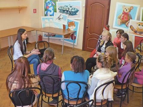 Творческая мастерская для талантливых детей, живущих в социальных учреждениях, 23 октября открылась в Подольском районе