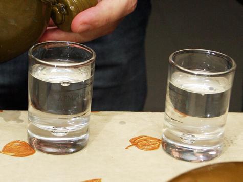 В Кремле даже водка будет секретной