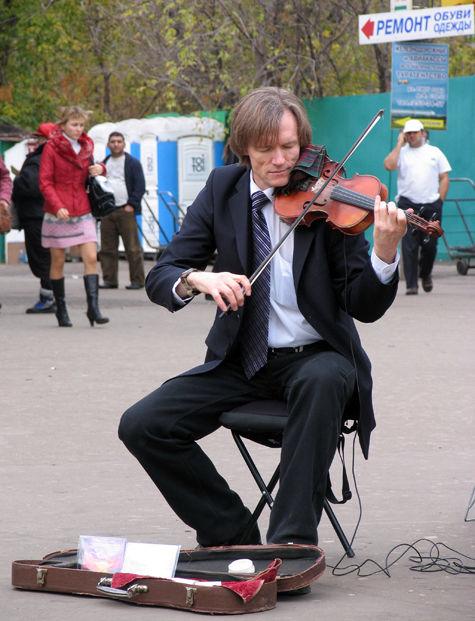 В Москве пройдет перепись уличных музыкантов