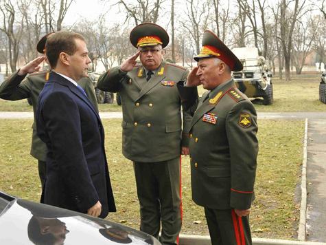 Медведев осадил Жириновского